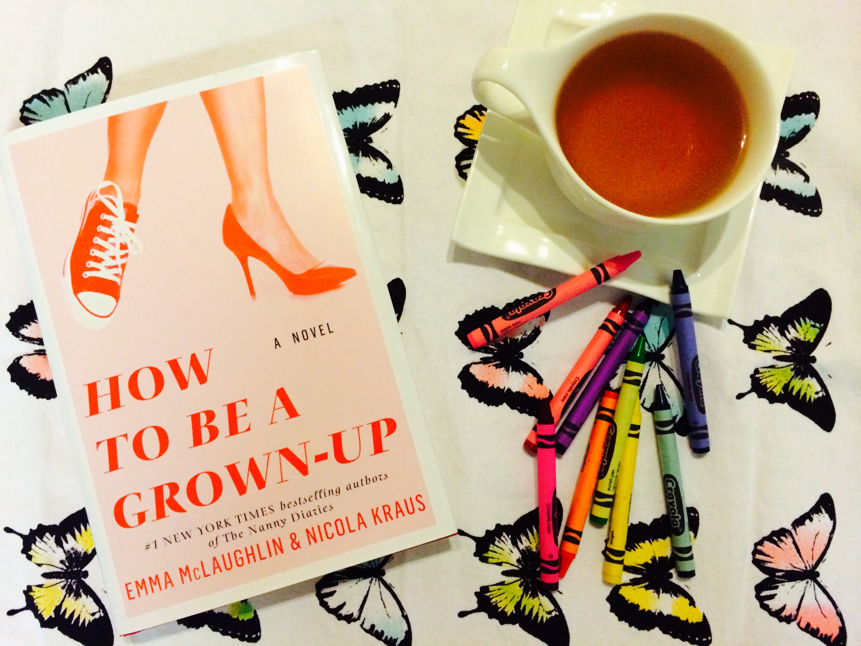 How to Be a Grown-Up: Emma and Nicola Have Done It Again! – Book Perfume