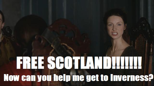 Claire - 8 - Free Scotland