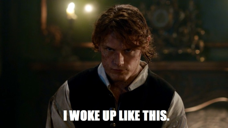 Jamie woke up like this