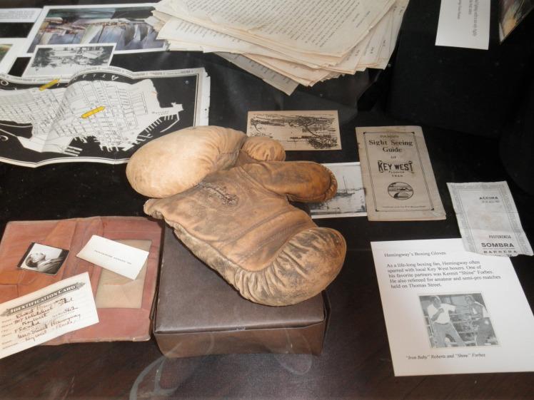 Hemingway Boxing Gloves